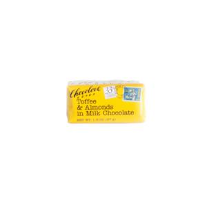 Chocolove - Toffee & Almonds Milk Chocolate Bar - (Case of 12)
